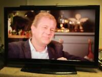 """Bush 40"""" full HD 1080p lcd tv built in freeview"""