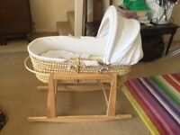 Good quality Baby's Moses basket for sale