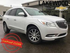 2017 Buick Enclave Leather (Back Up Cam, Sunroof)