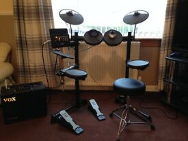 Yamaha DTX400K Electric Drum kit