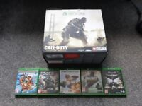 XBOX ONE ADVANCED WAREFARE WITH FIVE GAMES