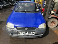 1997 Vauxhall Corsa Merit 3dr 1.2 Petrol Blue BREAKING FOR SPARES