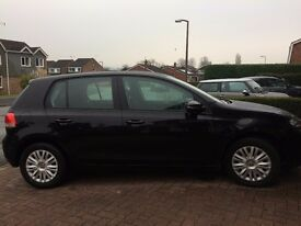 Volkswagen Golf TDI with very low mileage