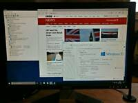 "Dell Dimension E520 + 20"" monitor + keyboard + mouse"