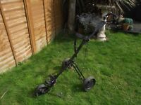 Hillman 3 Wheeled Golf Trolley