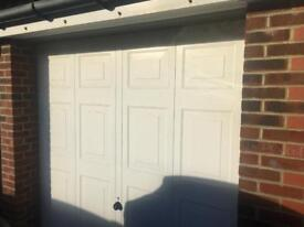 Electric up and over Garage Door with all fittings and remote key fob