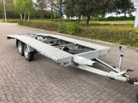 Twin Axel car trailer