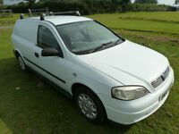 VAUXHALL ASTRAVAN 1.7 WHITE 12 MONTHS MOT WELL MAINTAINED