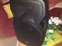 Pa amp/speaker