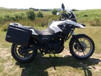Bmw g650 gs 2011 with panniers