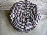 MENS GATSBY STYLE TWEED CAP S/M
