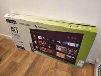 Technika Tv 40'' Smart LCD Blutooth LED FILL 1080P HD ''' BRAND NEW ''' Still under Warranty '''