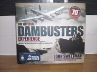 THE OFFICIAL DAMBUSTERS EXPERIENCE BOOK - SPECIAL 70th ANNIVERSARY - BRAND NEW - 62 COLOUR PAGES