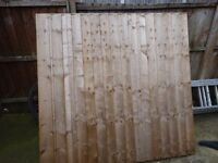 New Fence Panel