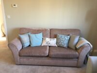 Sofas for sale - 3+2 seaters excellent condition, beige