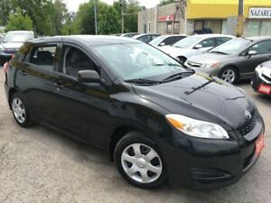 2010 Toyota Matrix AUTO/ POWER GROUP/ LOW KMS/ VERY CLEAN