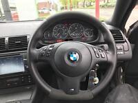Bmw e46 flat bottom Steering wheel
