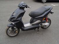2007 PIAGGIO NRG BLACK 50cc TWO STROKE SCOOTER MOPED SPARES OR REPAIR ONLY