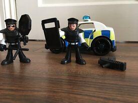 Imaginext police car