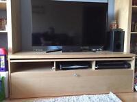 Large tv storage unit
