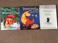 Kids xmas paperback story books 🎄