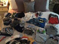 Baby Boys Clothing Bundle 3-6m