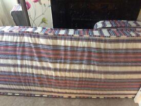 Small single mattress.