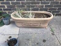 3 Garden Pots Available