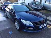 VOLKSWAGEN PASSAT CC 2.0 TDI CR MANUAL 2009 1 FORMER OWNER 2 KEYS LONG MOT FULL SAT NAV VERY CLEAN