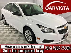 2013 Chevrolet Cruze LS -LOCAL ONE OWNER-