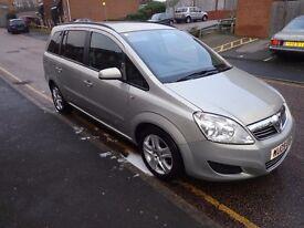 Vauxhall Zafira CDTI Exclusive 2009 Plate - Auto - Mileage 120000, Long MOT - Rare Gold - NO OFFERS