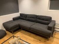 Mabel Sofa Dot Com - Chaise Sofa - Excellent Condition 1 Year Old