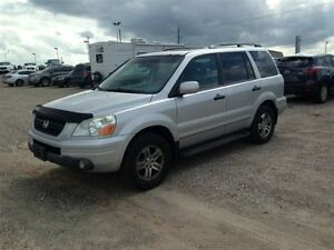 2004 Honda Pilot EX-L AS IS Roof Leather DVD