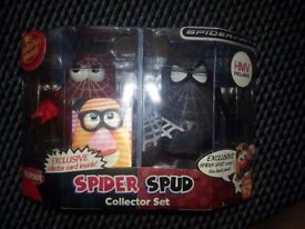 Playskool Mr Potato Head Spider Spud Collector Set Double Pack New Boxed HMV Exclusive 2006