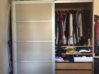 Ikea Pax Wardrobe double