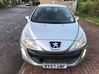 2008 Peugeot 308 1.6 VTi Sport 5dr Manual @07445775115@