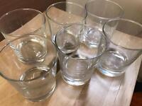 6 Ikea Tumbler Glasses