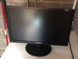 """2 x Samsung 23"""" PC Monitors SyncMaster E2220"""