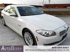 2013 BMW 5 Series 535IX ***ACCIDENT FREE LOW KM CANADIAN CAR***