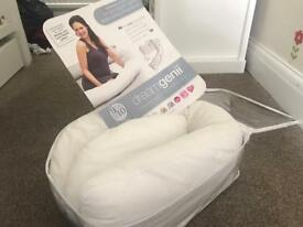 DreamGenii Pregnancy and Nursing Pillow for sale, £20