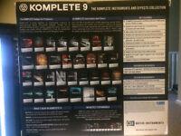 Native Instruments - Komplete 9 + additional software