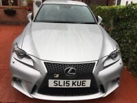 SUPERB LEXUS IS 250S SPORT VERY LOW MILAGE/ semi auto with flappy paddles