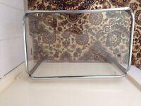 Glass shelf unit hardly used only £10