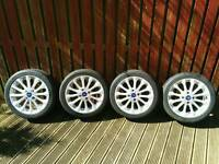 "4x 16"" Ford Fiesta Alloy With Tyre"