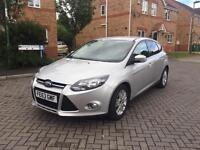 2014 FORD FOCUS TITANIUM NAVIGATOR 12 MONTH MOT FULL SERVICE HISTORY CROUIS LOW MILEAGE HPI CLEAR