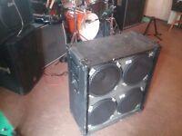 4x12 cab. 4x75w Randall speakers in Carlsboro cab. 300 watts.8 ohms.