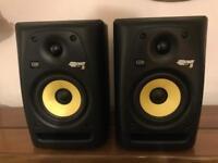 krk rokit 5 G2 (Pair) Studio Monitors With Original Boxes...