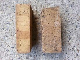 Victorian buff floor bricks