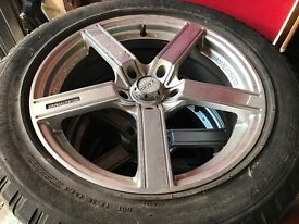 5 stud ally wheels