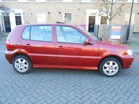 VW POLO 1.4 AUTO AUTOMATIC 5 DOOR NEW SHAPE FSH like Yaris Corsa Clio Polo Fiesta 307 Swift Civic A2